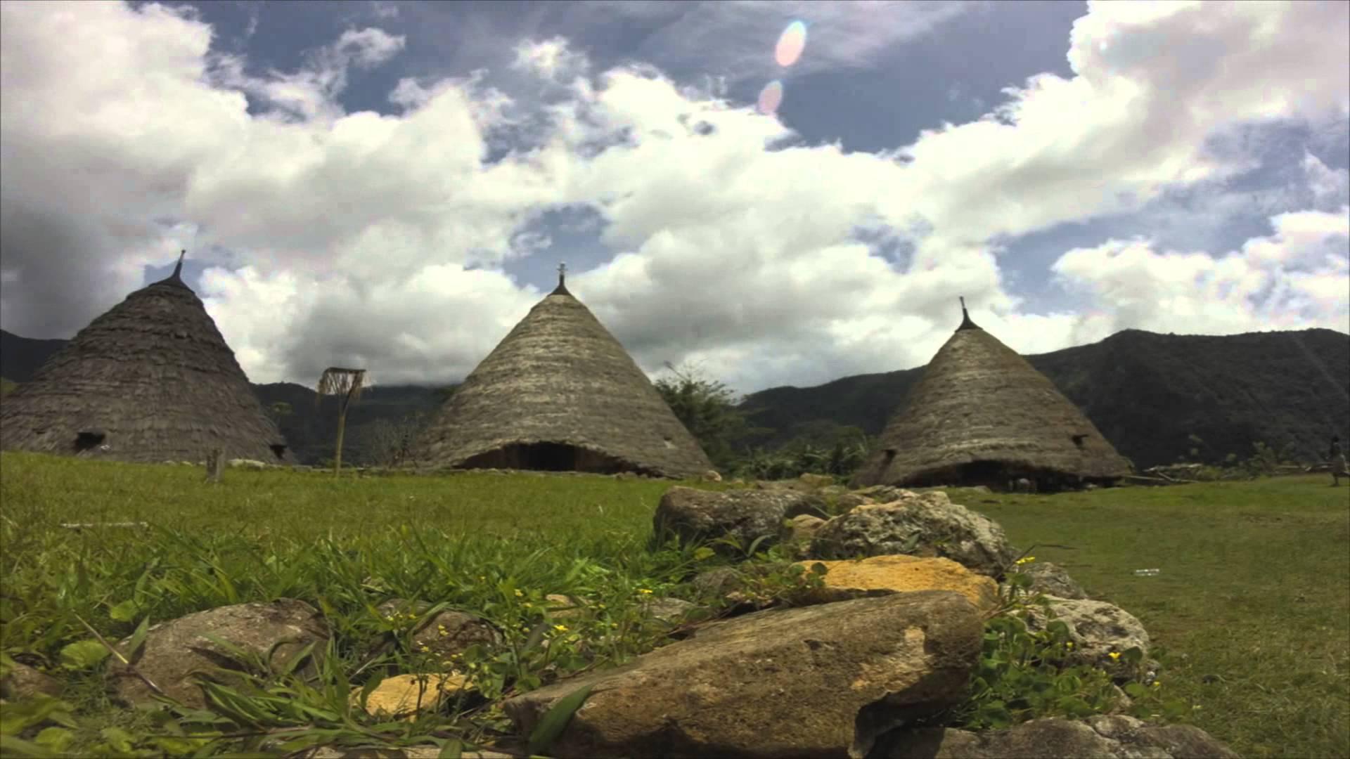 Rumah Tradisional Wae Rebo