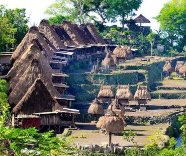 Kampung tradisiona Bena, Flores, Nusa Tenggara Timur
